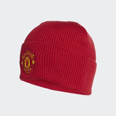 Football Red Manchester United Beanie