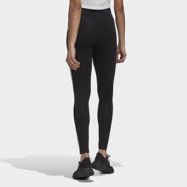 Women Originals Black Adicolor Sliced Trefoil High-Waisted Leggings