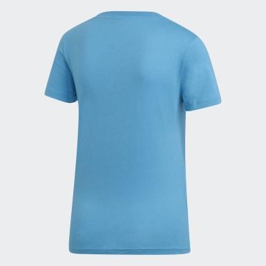 Koszulka Essentials Linear Niebieski