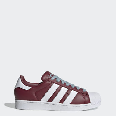 Originals Burgundy Superstar Shoes