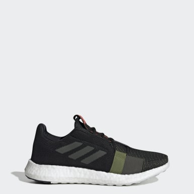 Men Running Black Senseboost Go Shoes