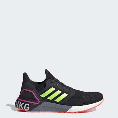 Running Black Ultraboost 20 HongKong City Pack Shoes