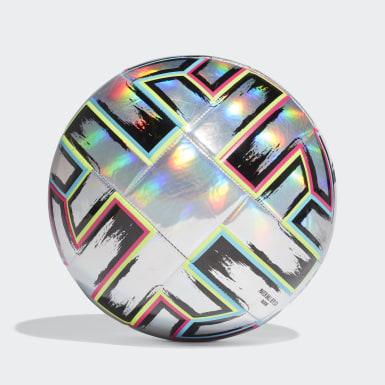Fußball Uniforia Trainingsball Silber