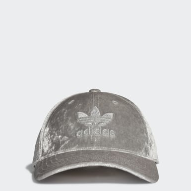 Originals Grey Trefoil Baseball Cap