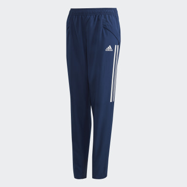 Kids Football Blue Condivo 20 Presentation Pants