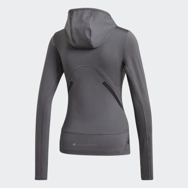 Camisola com Capuz TruePace Cinzento Mulher adidas by Stella McCartney