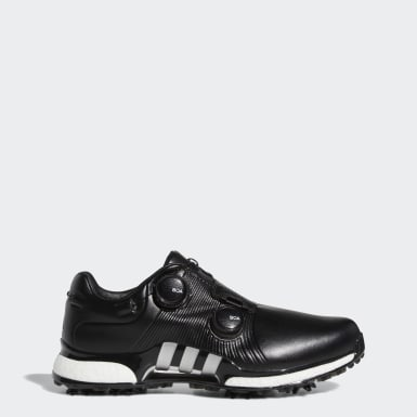 Men Golf Black Tour360 XT Twin Boa Shoes