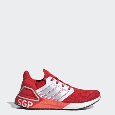 Running Red Ultraboost 20 Singapore City Pack Shoes