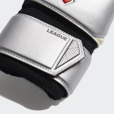 Soccer Silver Predator League Gloves