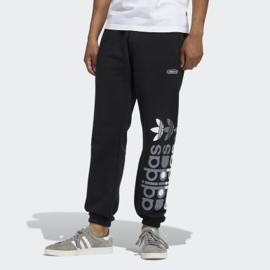 Men Originals Black Forum Sweat Pants