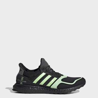 Men Running Black Ultraboost S&L Shoes