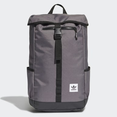 Originals Grey Premium Essentials Top Loader Backpack