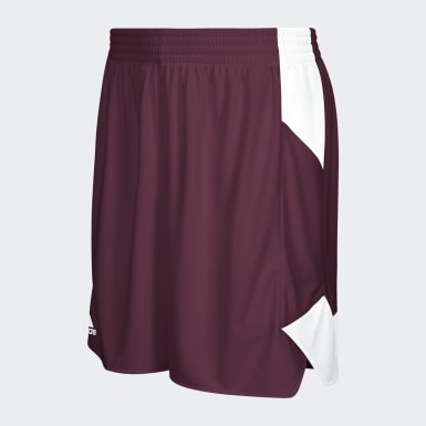 Women's Basketball Burgundy Crazy Explosive Shorts