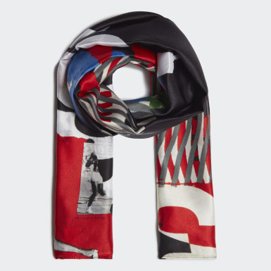 белый Шелковый шарф Y-3 CH1