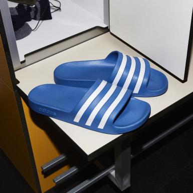 Plavání modrá Pantofle Adilette Aqua