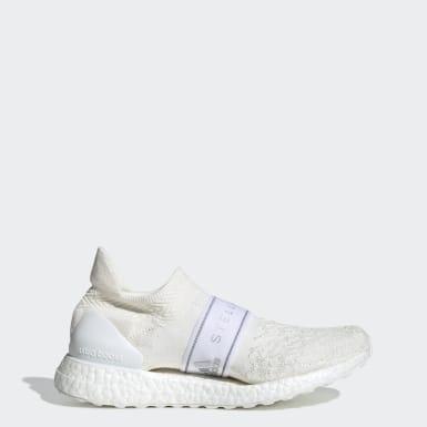 ผู้หญิง adidas by Stella McCartney สีขาว รองเท้า Ultraboost X 3D Knit