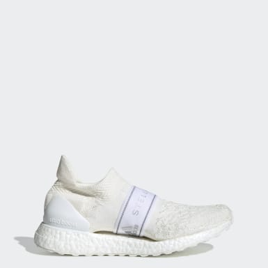 Women adidas by Stella McCartney White Ultraboost X 3D Knit Shoes