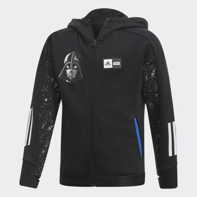 Boys Training Black Star Wars Hoodie