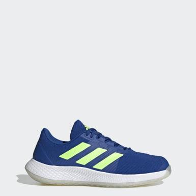 Heren Netbal Blauw ForceBounce Handbalschoenen