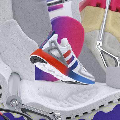Originals Hvid ZX 2K Flux sko