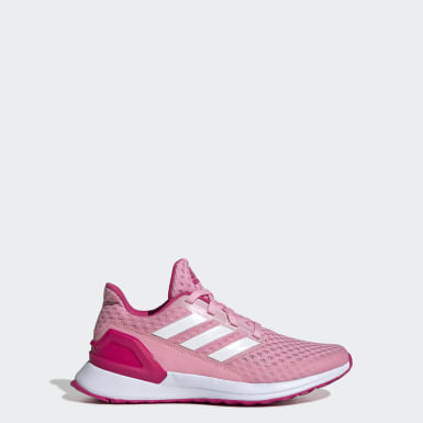 Youth Running Pink RapidaRun Shoes