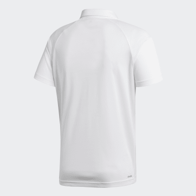 Erkek Training Beyaz D2M Polo Tişört