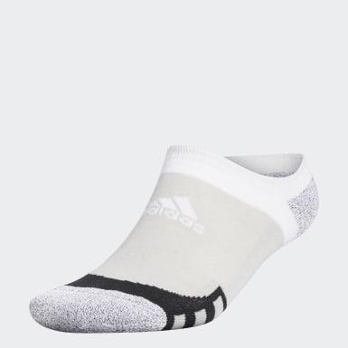 Men Golf Grey Tour360 No-Show Socks