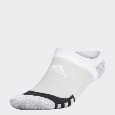 Men Golf Grey Tour360 No-Show Socks