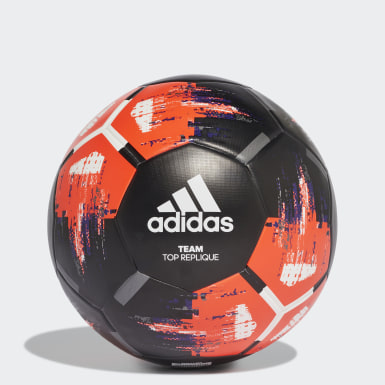 Men's Soccer Black Team Top Training Ball