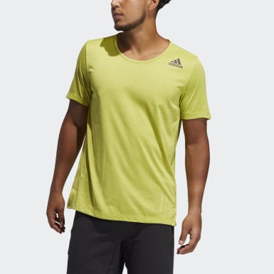 Men's Training AEROREADY 3-Stripes Flow Primeblue Tee