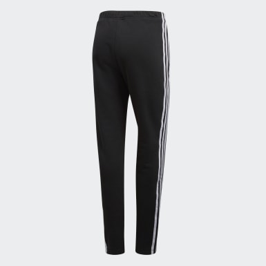 Women Originals Black Cuffed Track Pants