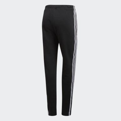 Spodnie dresowe z mankietami Czerń