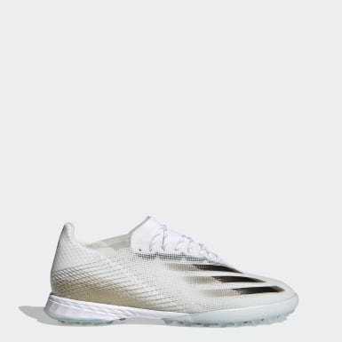 Chaussure X Ghosted.1 Terrain Turf Blanc Football