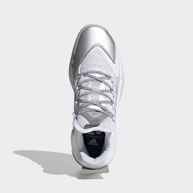 Basketball Pro Boost Mid Basketballschuh Weiß