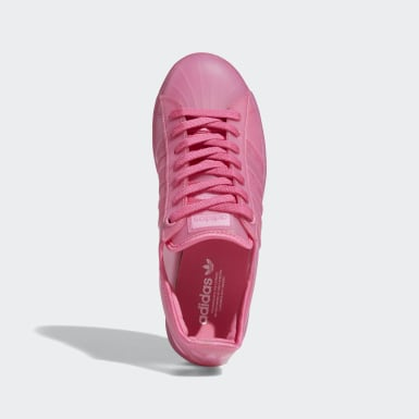 Women Originals Pink Superstar Jelly Shoes