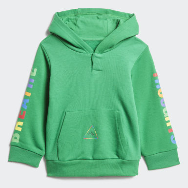 Survêtement Pharrell Williams Hooded vert Bambins & Bebes Originals