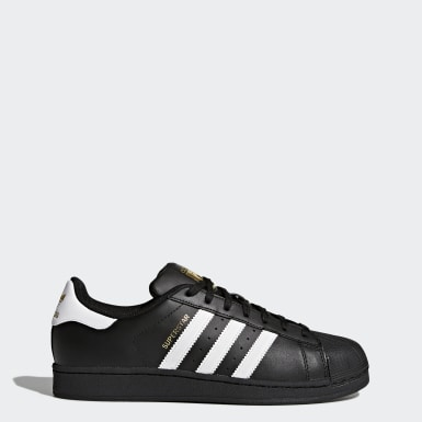 Noir Adidas Originals Femme Baskets Soldes Basket Superstar