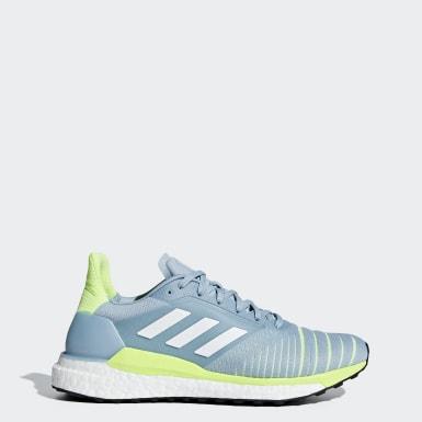 Kadın Koşu Mavi Solar Glide Ayakkabı