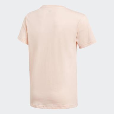 Dievčatá Originals ružová Tričko Trefoil