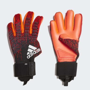 Football Red Predator Pro Gloves