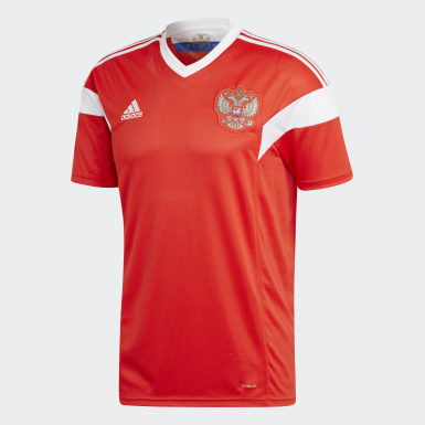 Jersey Russia Home Replica Rojo Hombre Fútbol