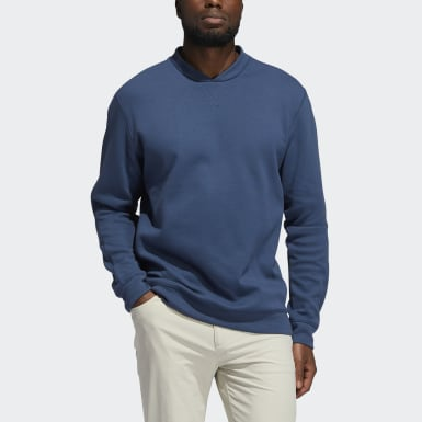 Men Golf Blue Go-To Crewneck Sweatshirt