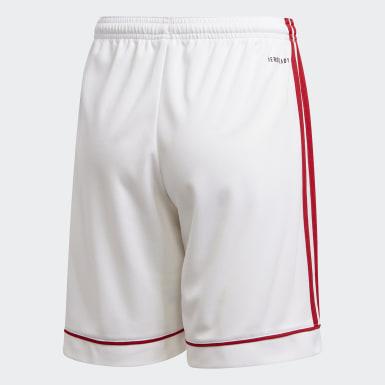 Jongens Voetbal Wit Squadra 17 Short