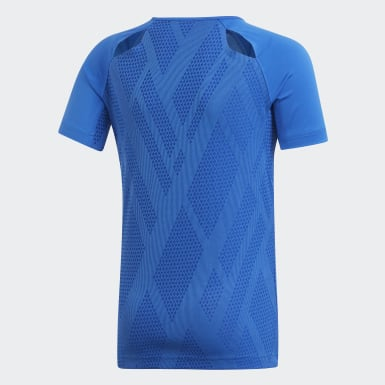 Children Volleyball Blue Quickset Jersey