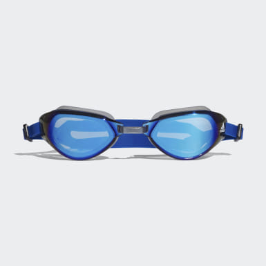 Antiparras Persistar Fit Mirrored Azul Natación