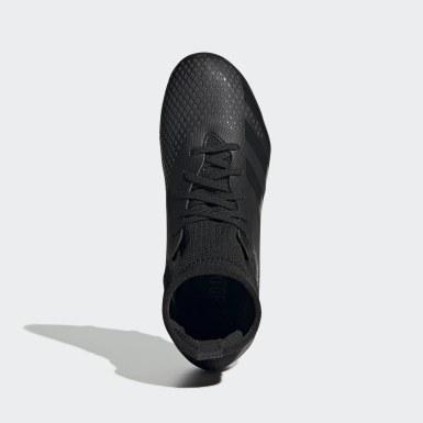 Zapatos de fútbol Predator 20.3 Terreno Firme Negro Niño Fútbol