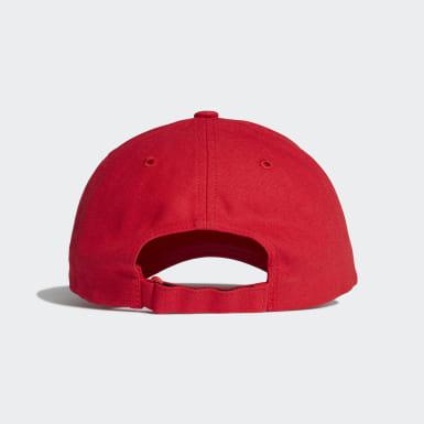 Y-3 Logo Caps Rød