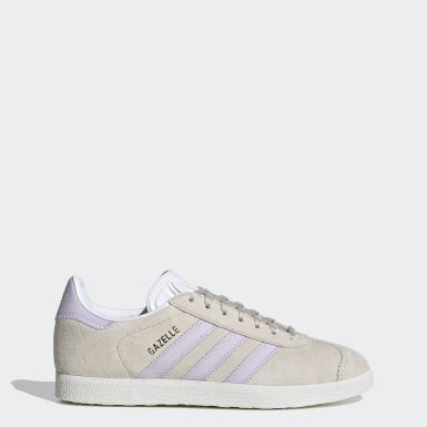 Women Originals Beige Gazelle Shoes
