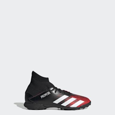 Zapatillas de fútbol Predator 20.3 moqueta Negro Niño Fútbol
