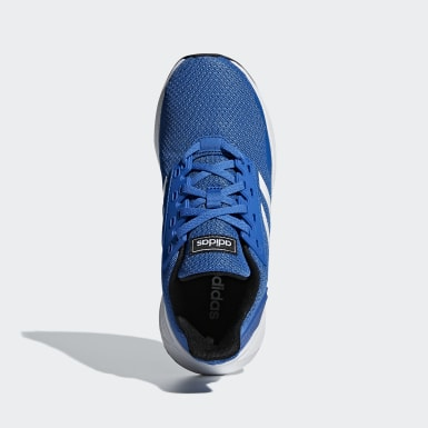 Youth 8-16 Years Running Blue Duramo 9 Shoes